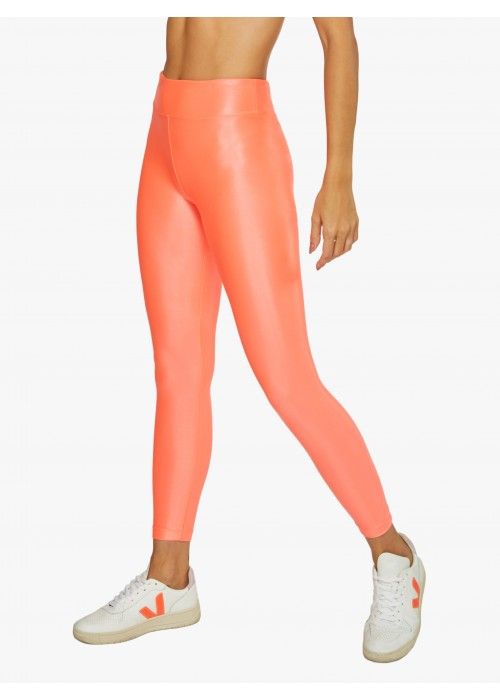 Lustrous Infinity High Rise Legging Guava