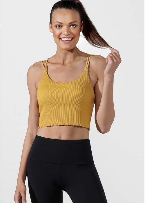 Idol Cropped Active Tank