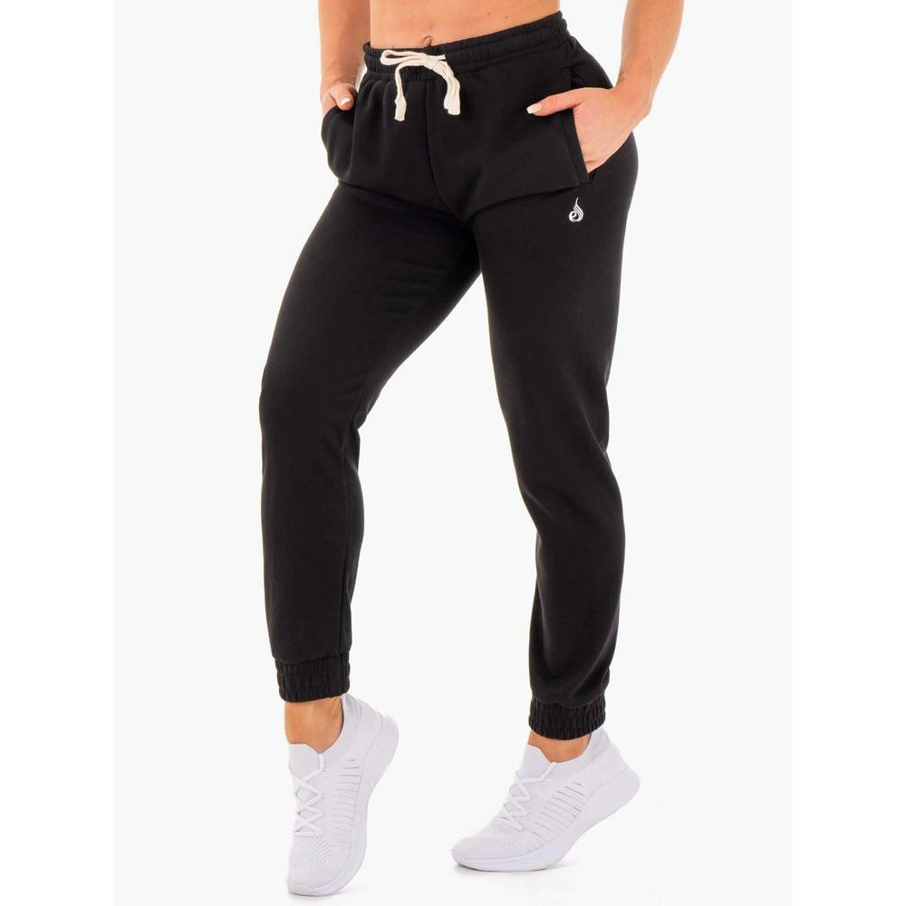 Block High Waisted Track Pants