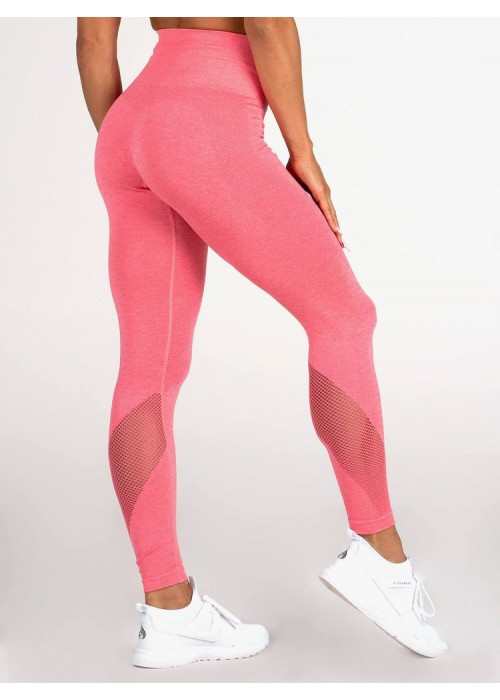 Seamless Tights - Coral Marl